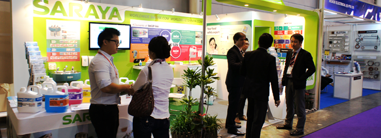 Saraya Hygiene Malaysia participated in Food & Hotel Asia (FHA) held in Singapore from 8th-11th April 2014