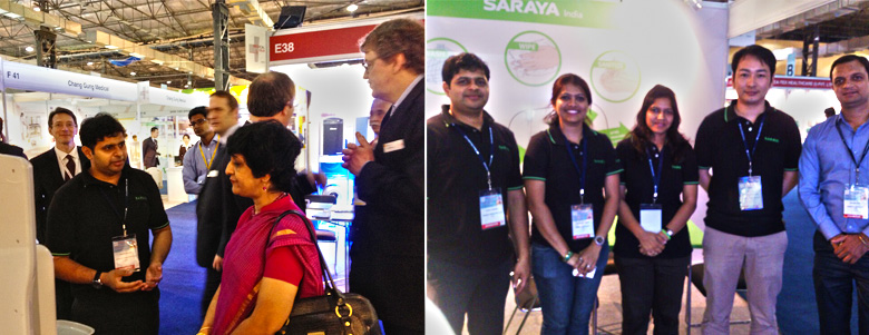 Saraya India Participated in 20th Medical Fair India, Being Held at Mumbai From March 14 - 16, 2014