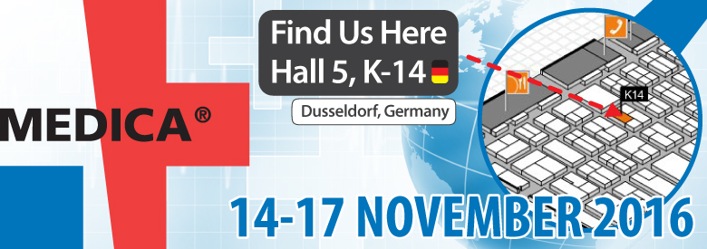 Join us at Medica 2016 in Germany