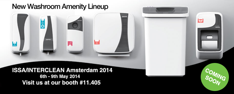 Participation in ISSA / Interclean Amsterdam 2014