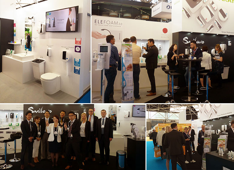 Participation in the ISSA/Interclean Amsterdam
